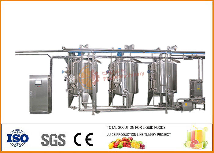 1000T / Year Fruit Wine Production Line CFM-W-1000t  for Apple / Grapes