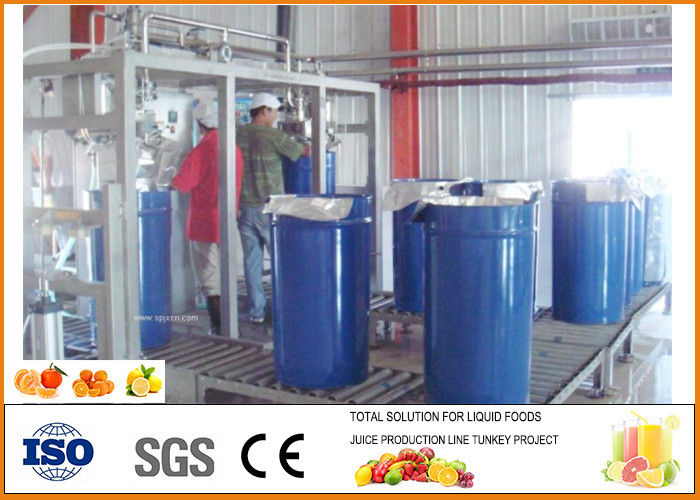 Food Grade Small Orange Juice Production Line ISO9001
