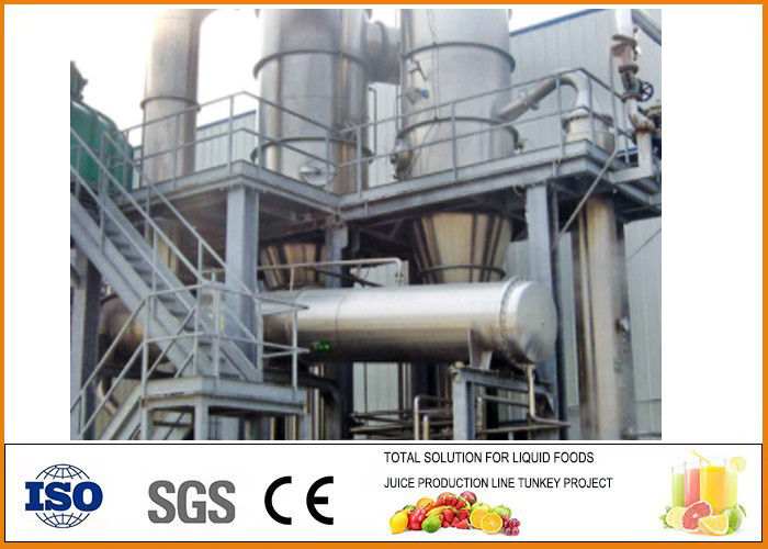 SS034 Multiple Effect Falling Film Concentrated Evaporator