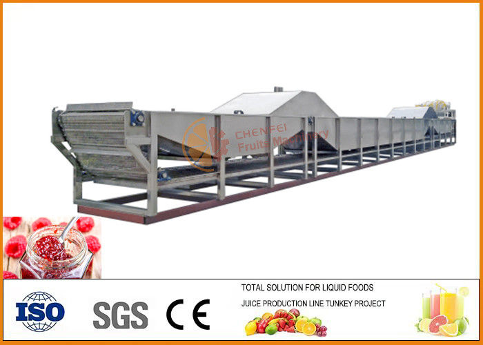 Automatic Turnkey Tomato Ketchup Sauce Jam Production Line ISO9001 Certification
