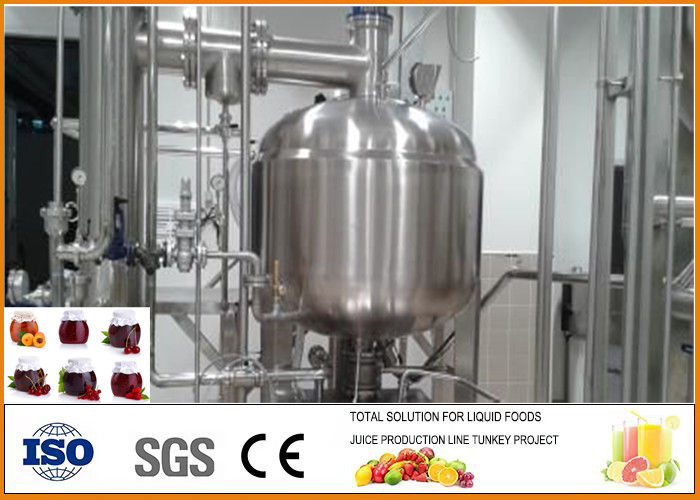 Small fruit and vegetable concentrated paste production line